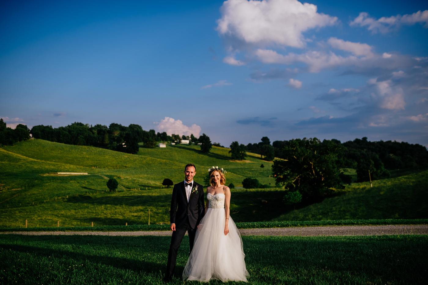 west virginia bride and groom lewisburg wv
