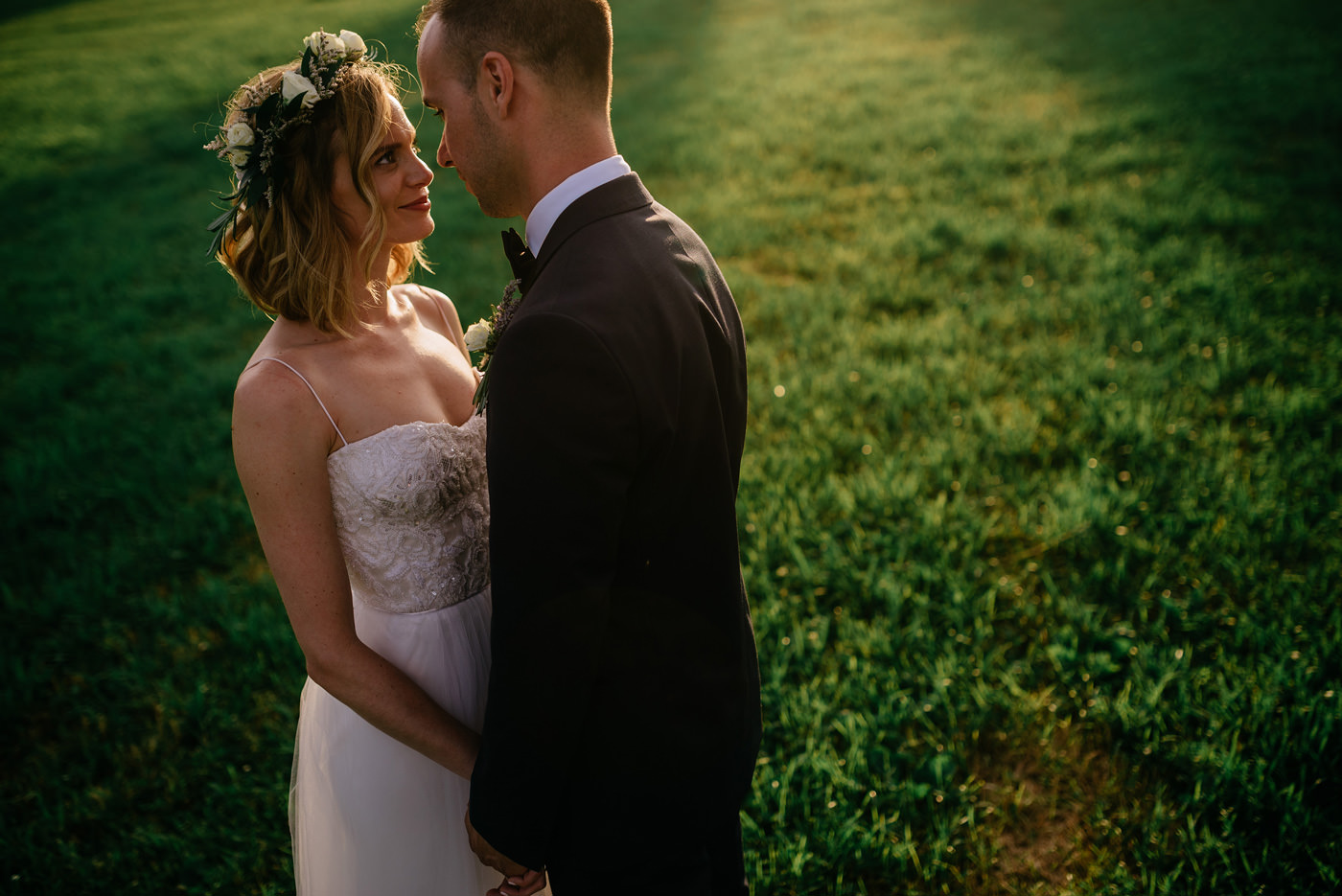 bride and groom portraits wv wedding