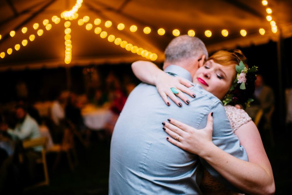 father daughter dance emotional bride