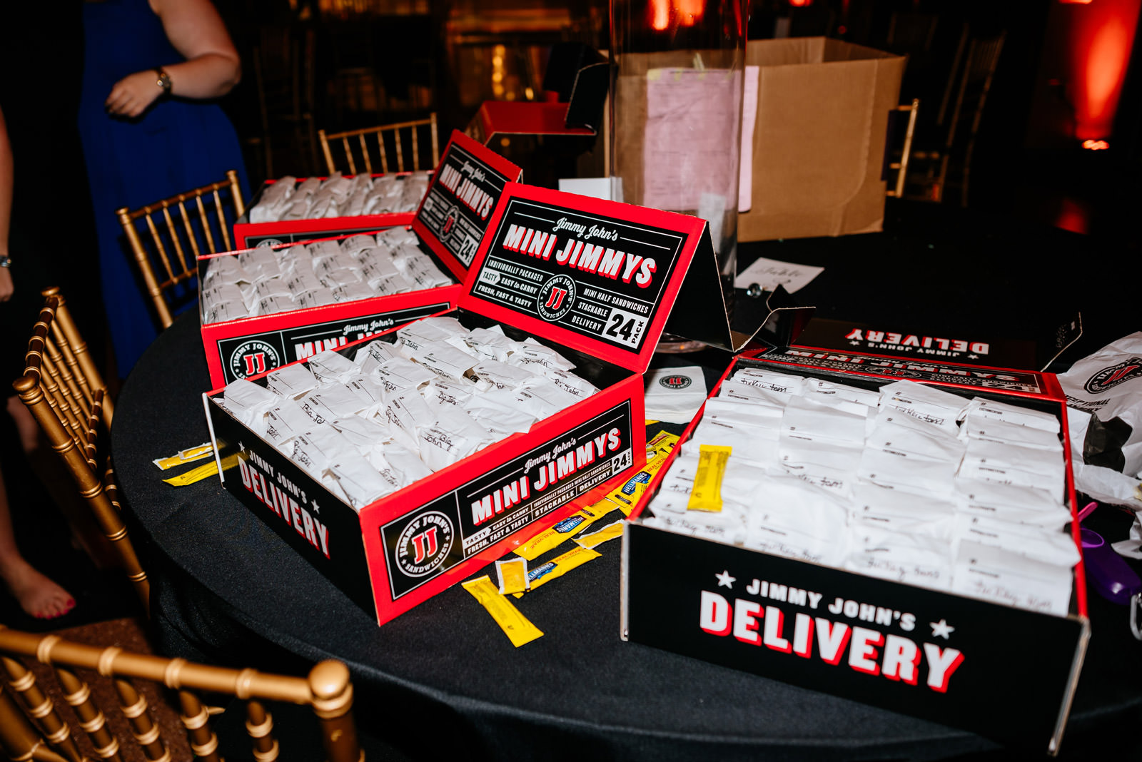 jimmy johns late night wedding snack