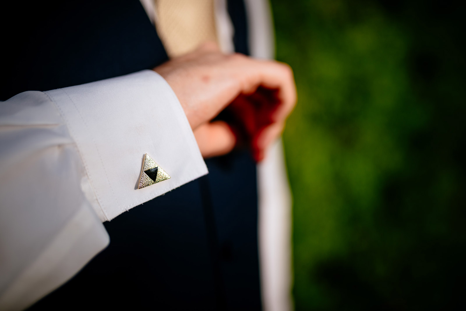 legend of zelda cufflinks wedding
