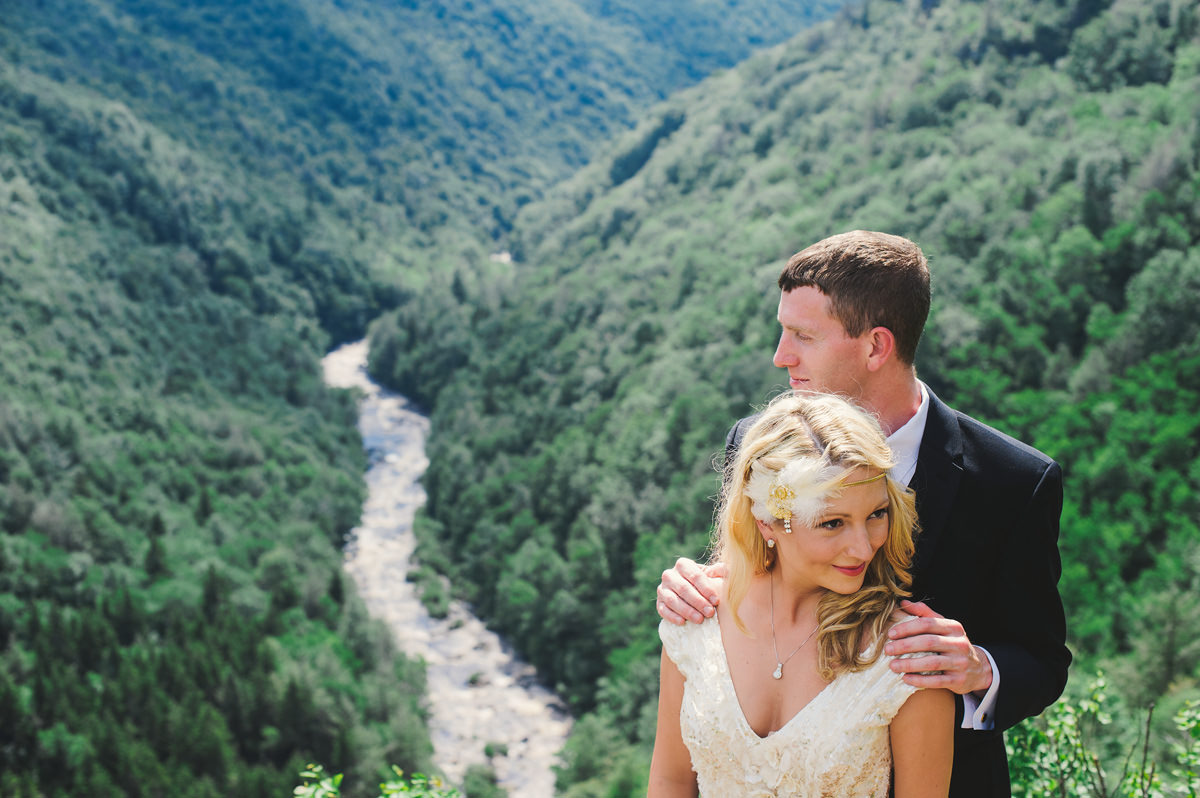 blackwater falls wedding