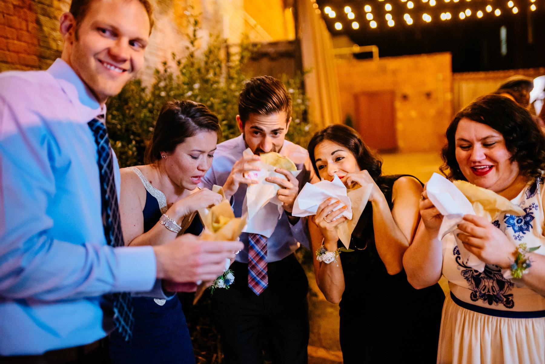 parlez voux crepe wedding treats durham