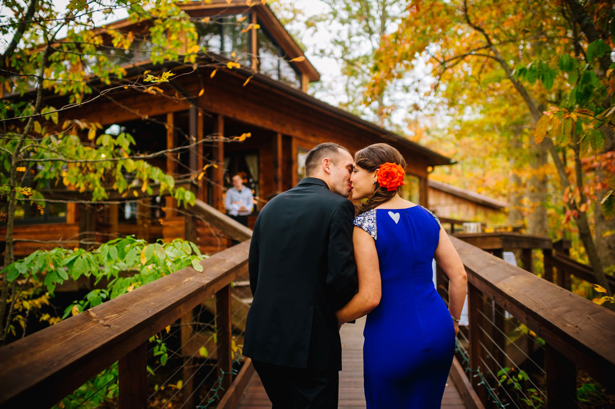 smokeys on the gorge autumn wedding photos
