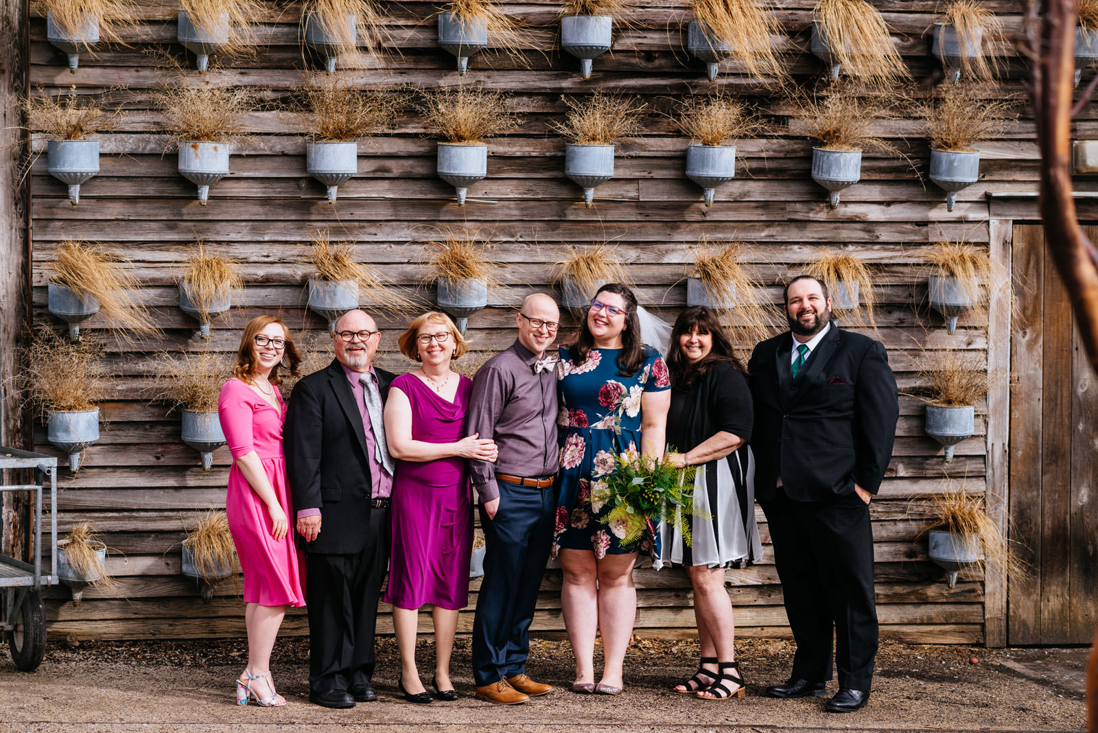 windy family photo outdoors terrain elopement
