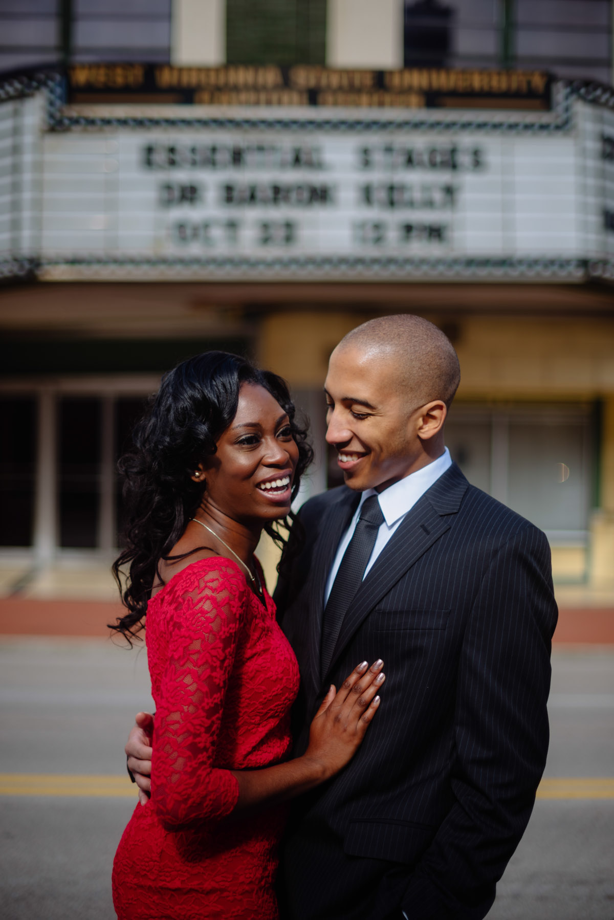 capitol theater charleston wv engagement session