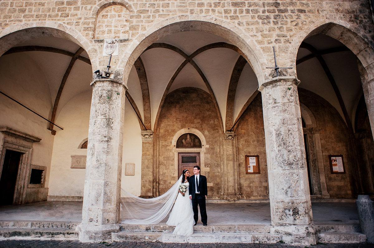 destination wedding photography rieti italy bride and groom portrait