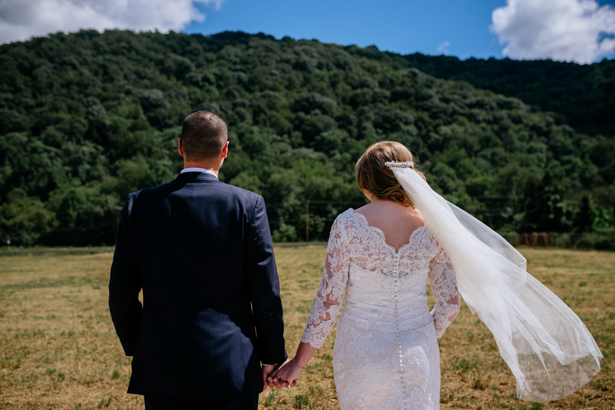 bride groom portrait jq dickinson saltworks wedding wild wonderful west virginia
