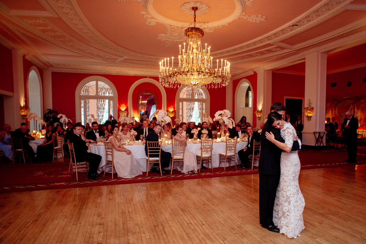 first dance at the greenbrier