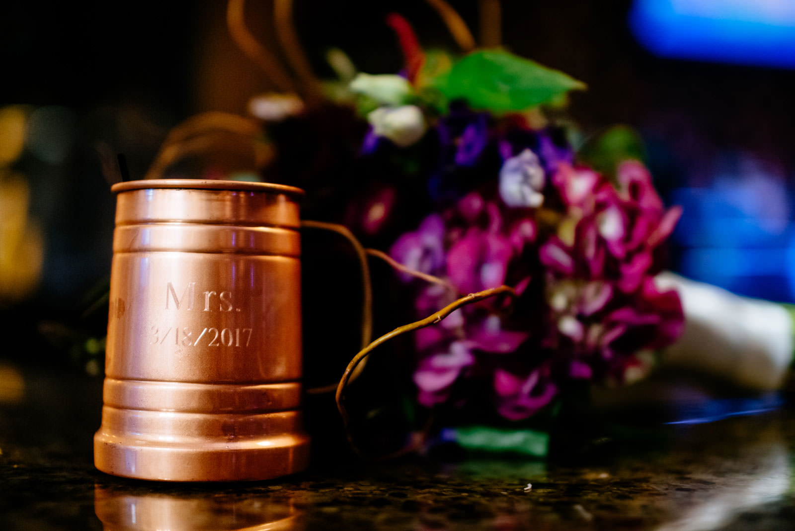 bride mule cup