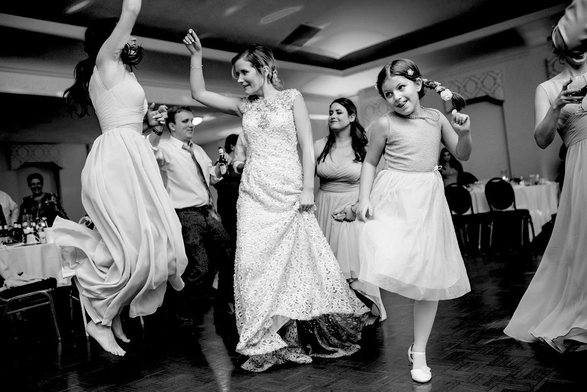wv winter wedding reception huntington wv
