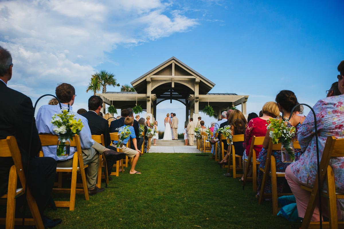 jekyll island convention center wedding ceremony