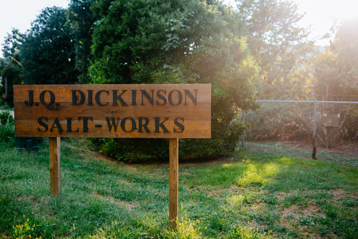 jq dickinson saltworks wedding charleston west virginia