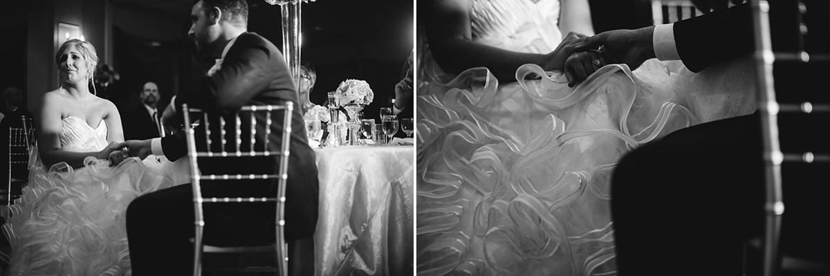 emotional toasts at wedding