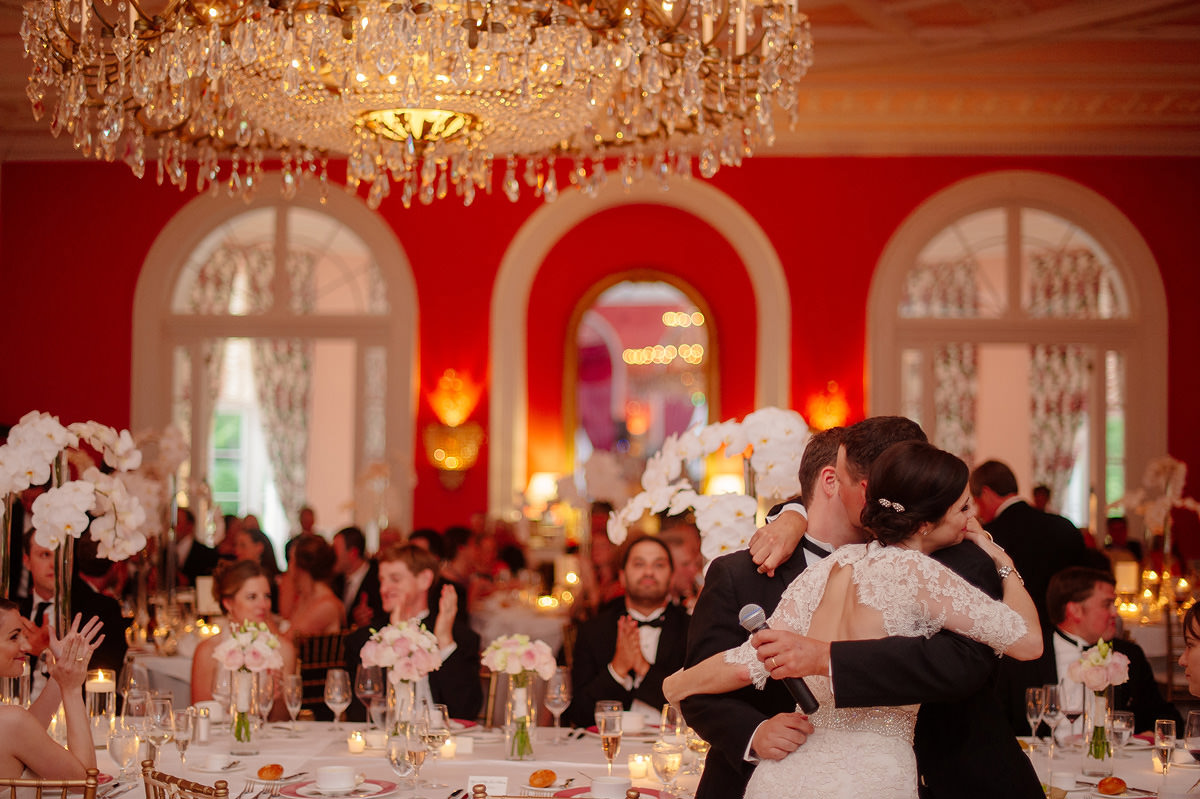 greenbrier resort wedding reception