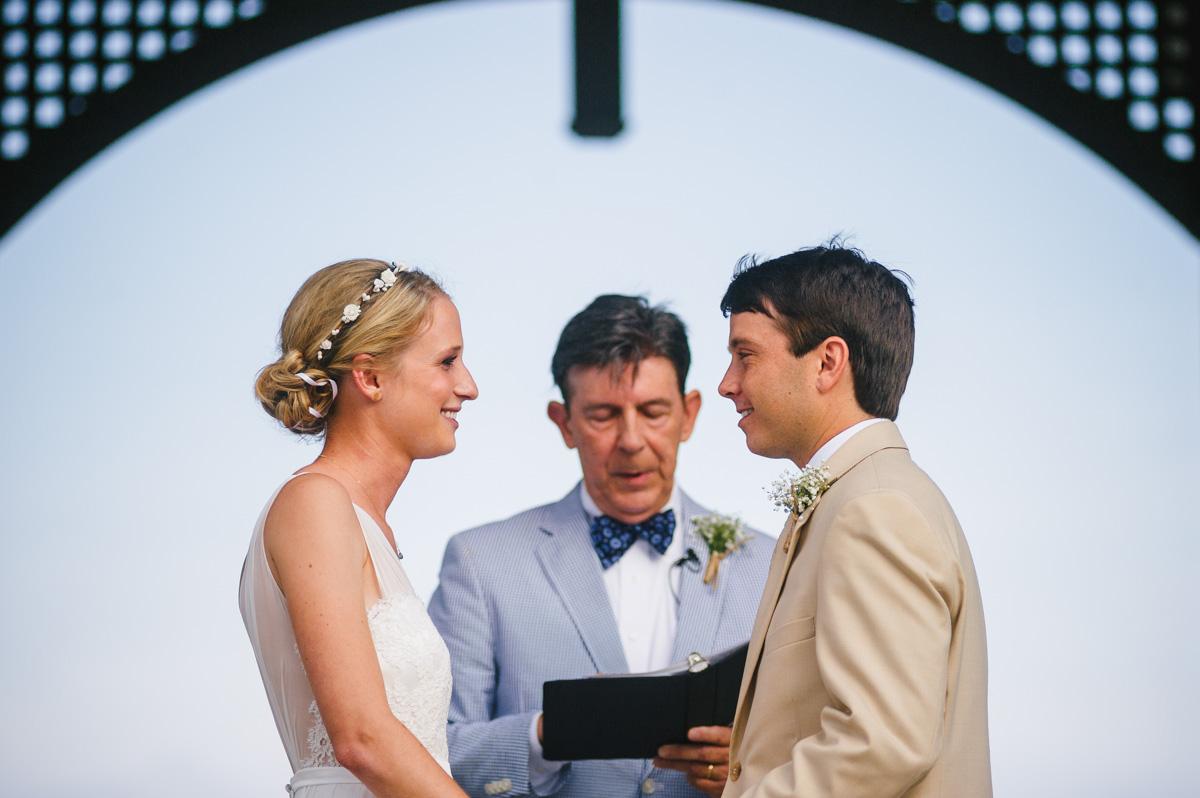outdoor wedding ceremony photojournailsm