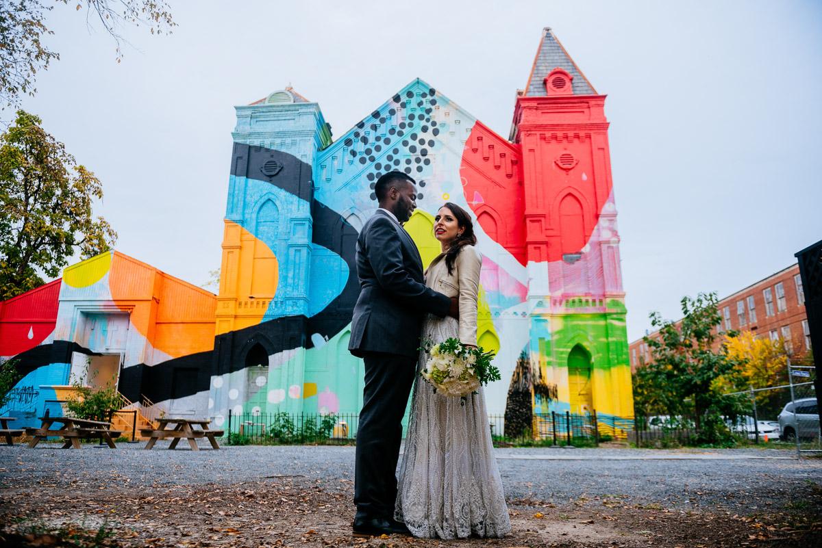 blind whino wedding photos