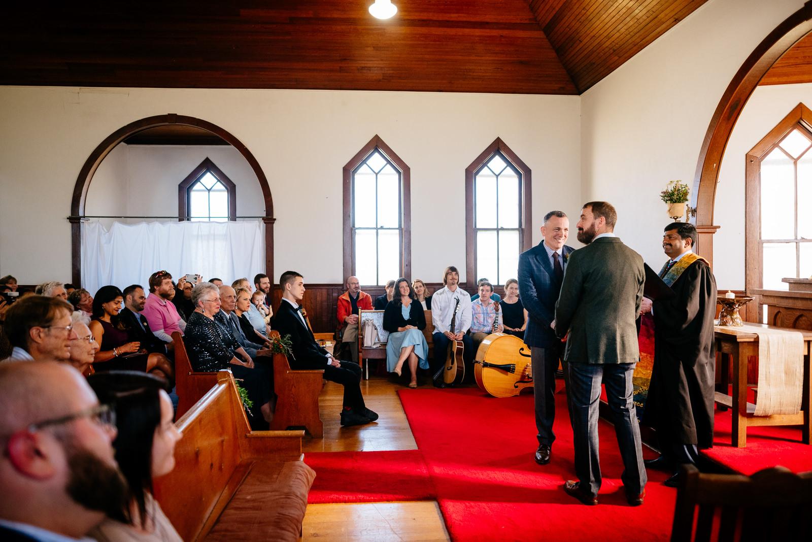 ceremony gay wv farm wedding