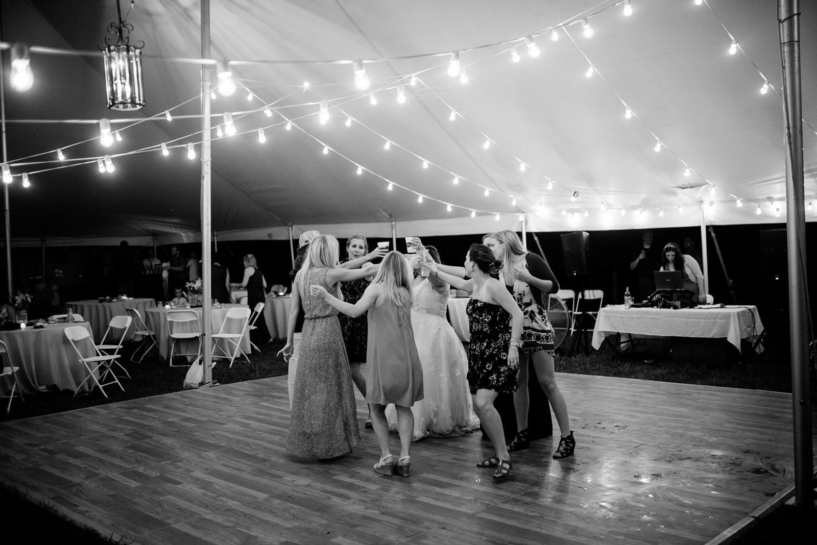 dancefloor toast