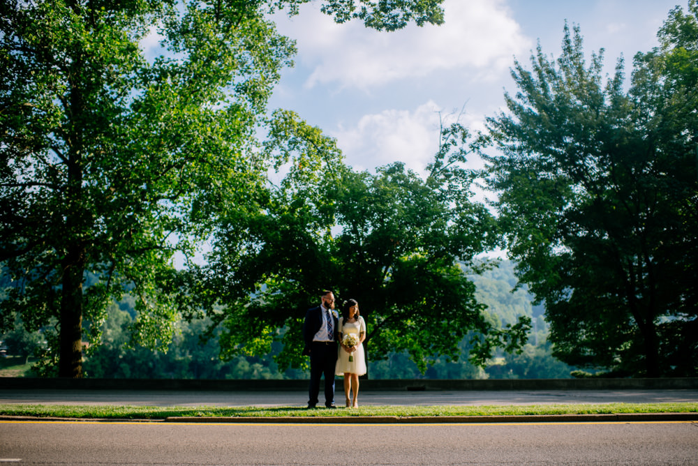 kanawha boulevard charleston wv bride and groom portraits