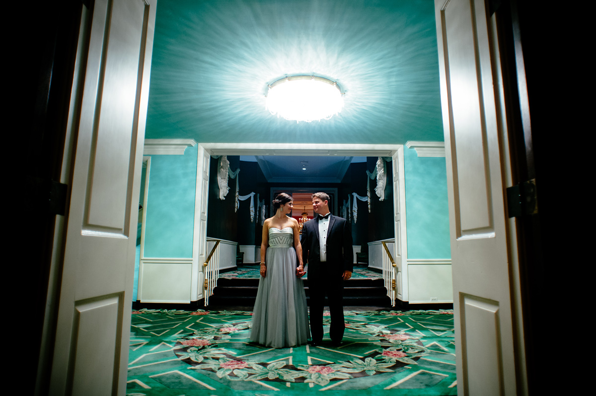 greenbrier resort wedding photos dorothy draper carleton varney