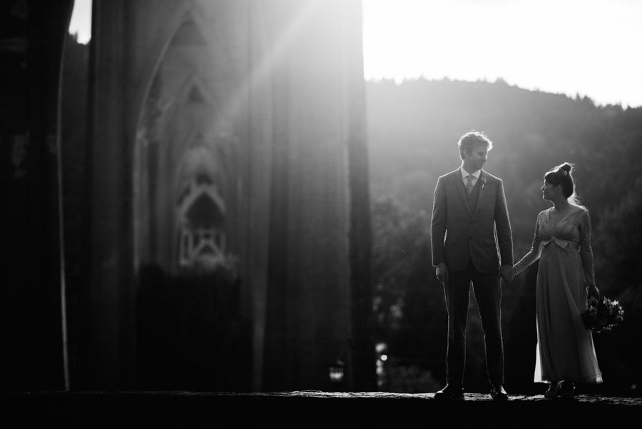 moody bride groom portraits in cathdral park portland oregon by wv photographer the oberports