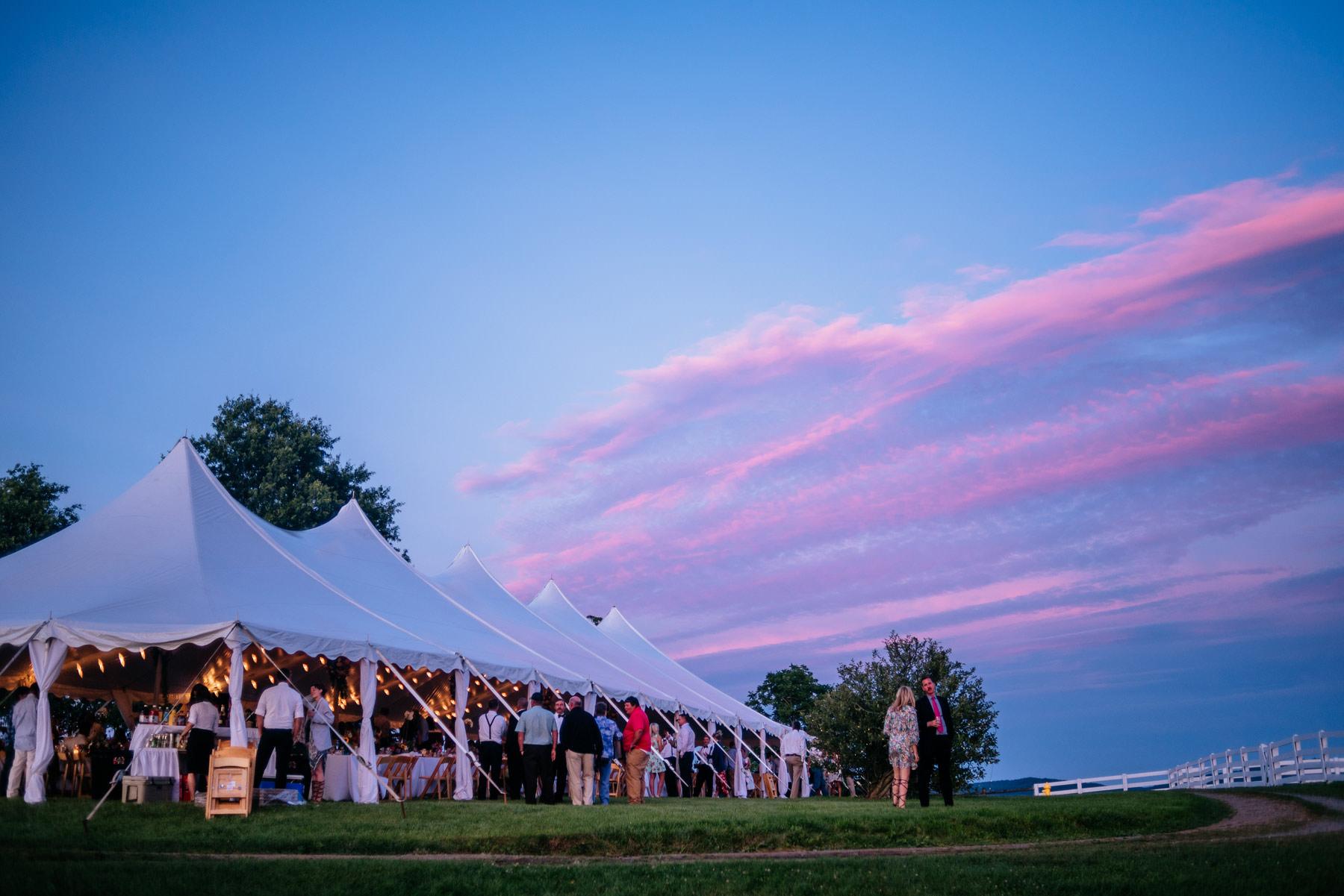 boho wv farm wedding