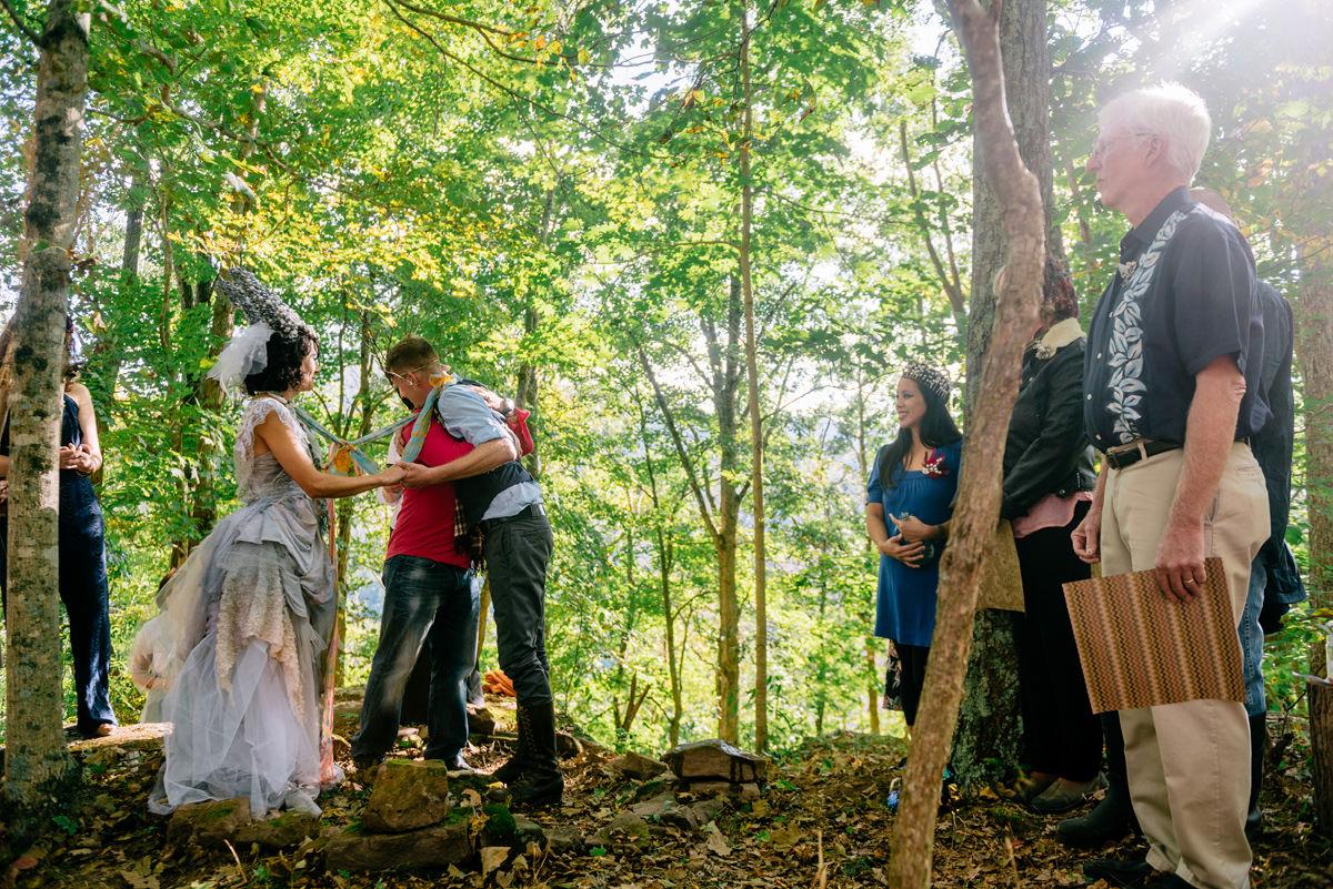 057b woodland punk rock wv wedding