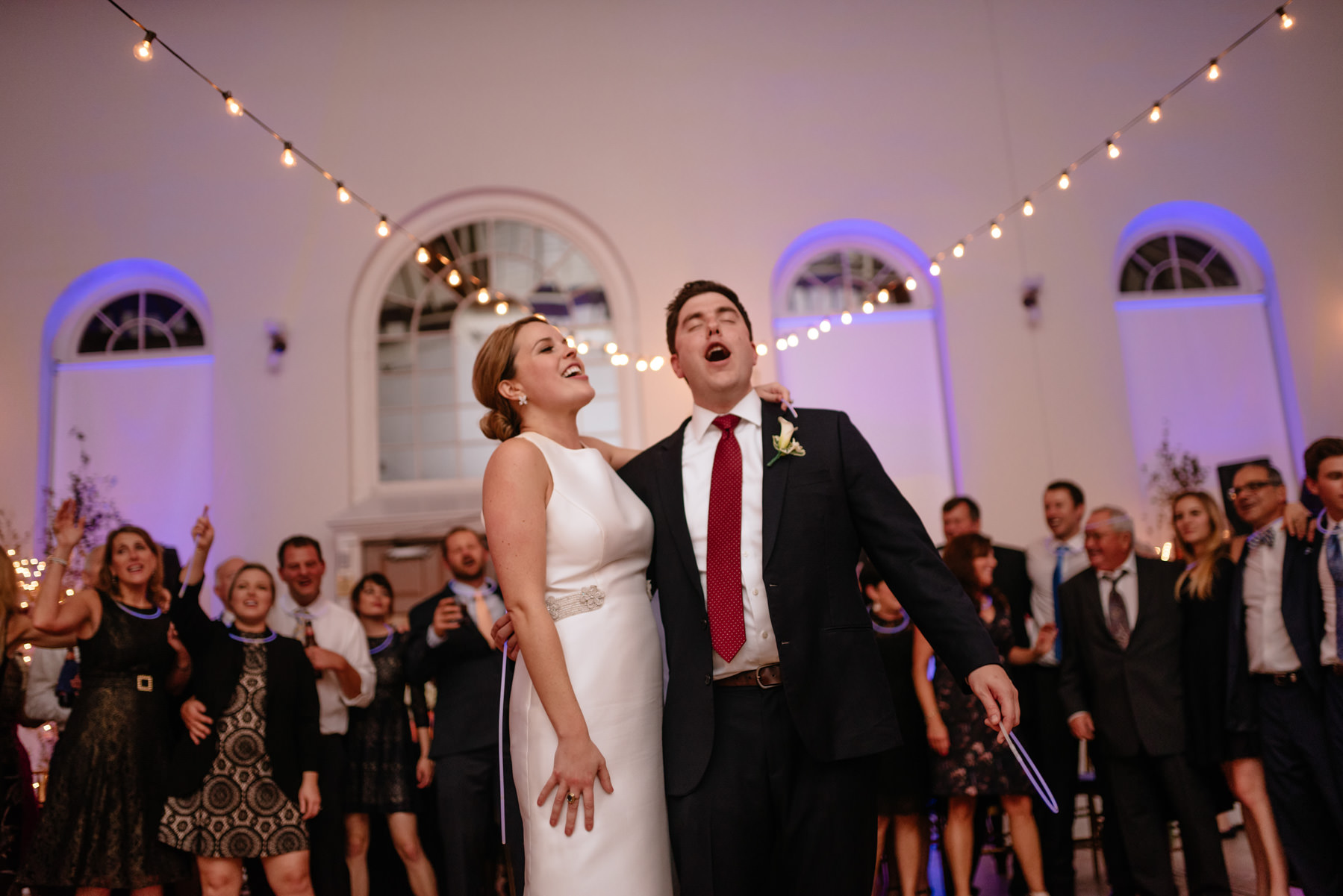 singing country roads at wedding