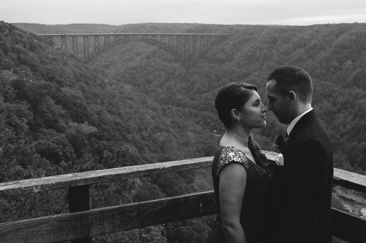 new river gorge bridge wedding
