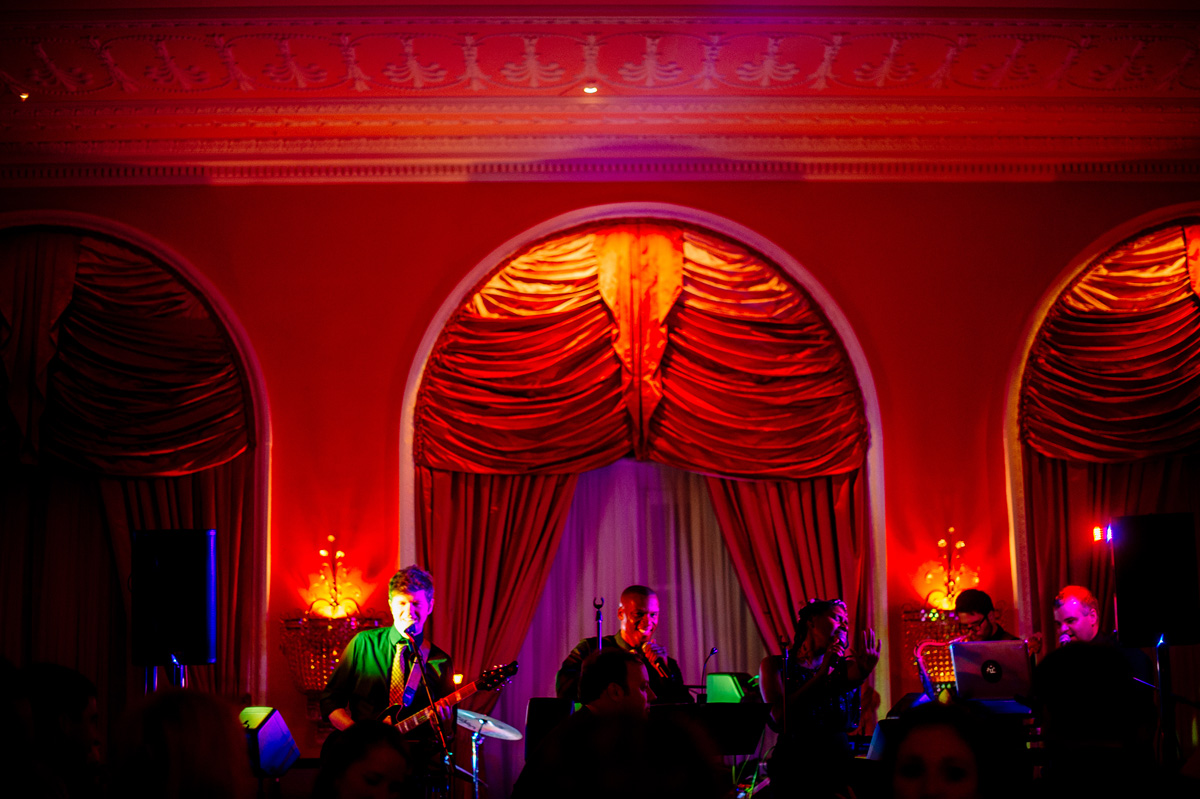 wedding band in full at the greenbrier