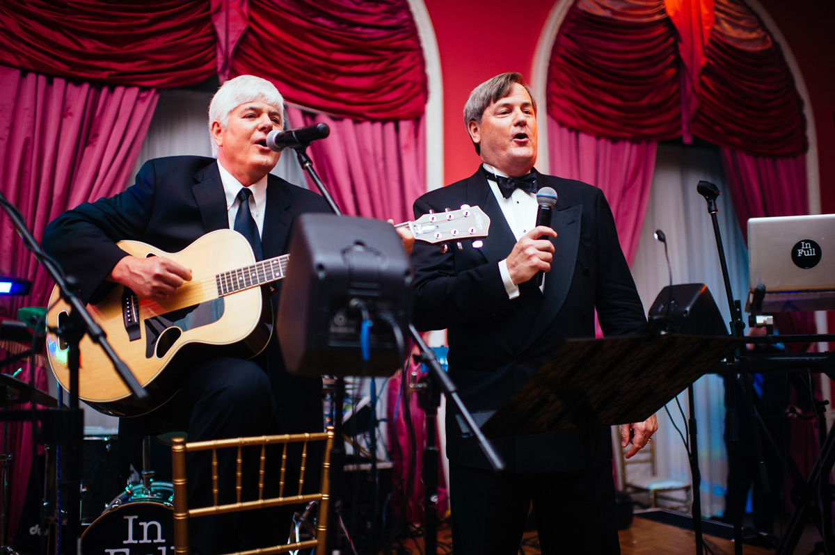 wedding reception at the greenbrier