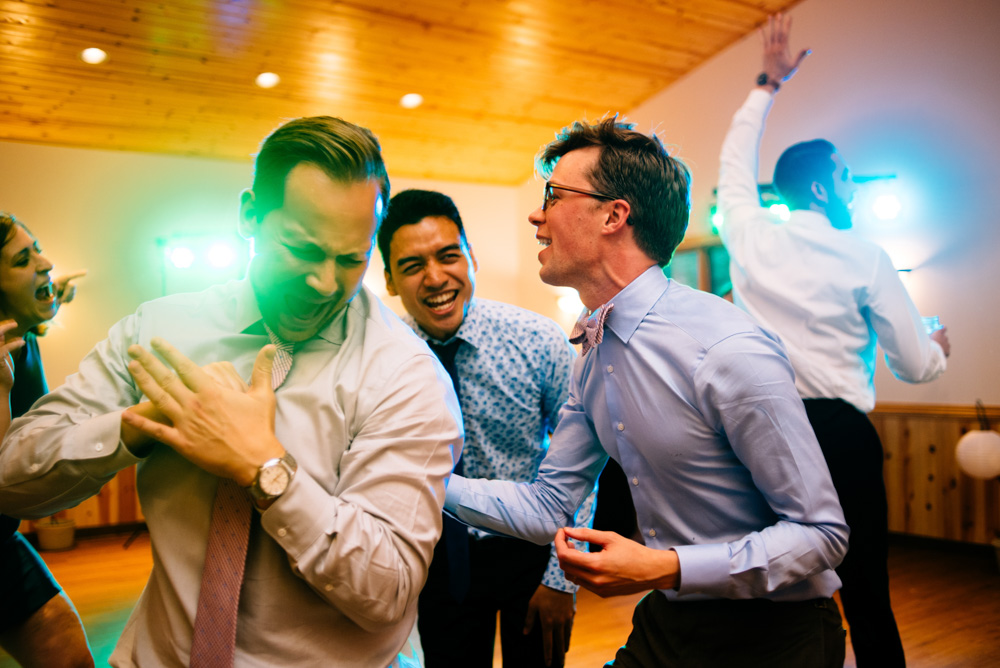 camp muffly wedding reception dance party
