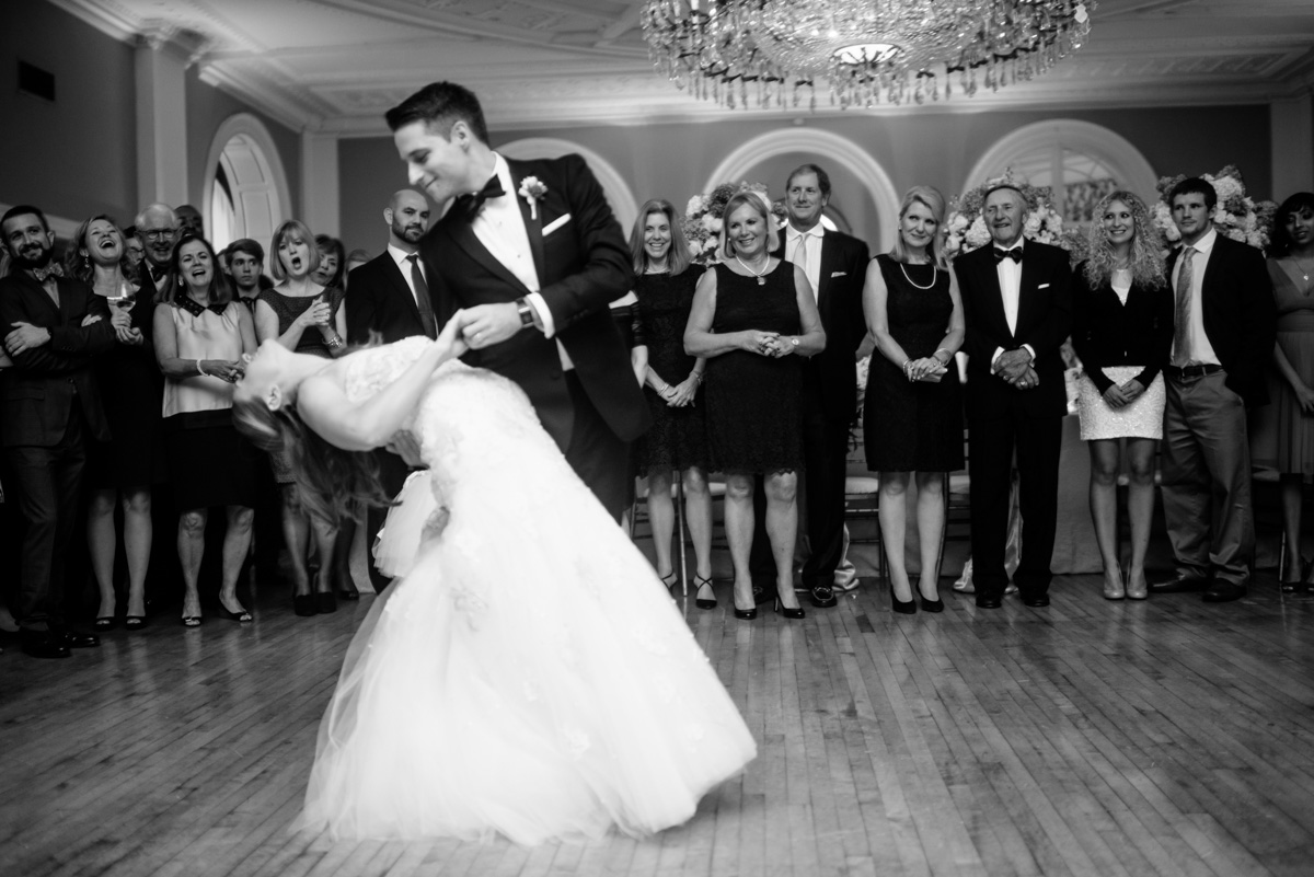greenbrier resort wedding reception first dance