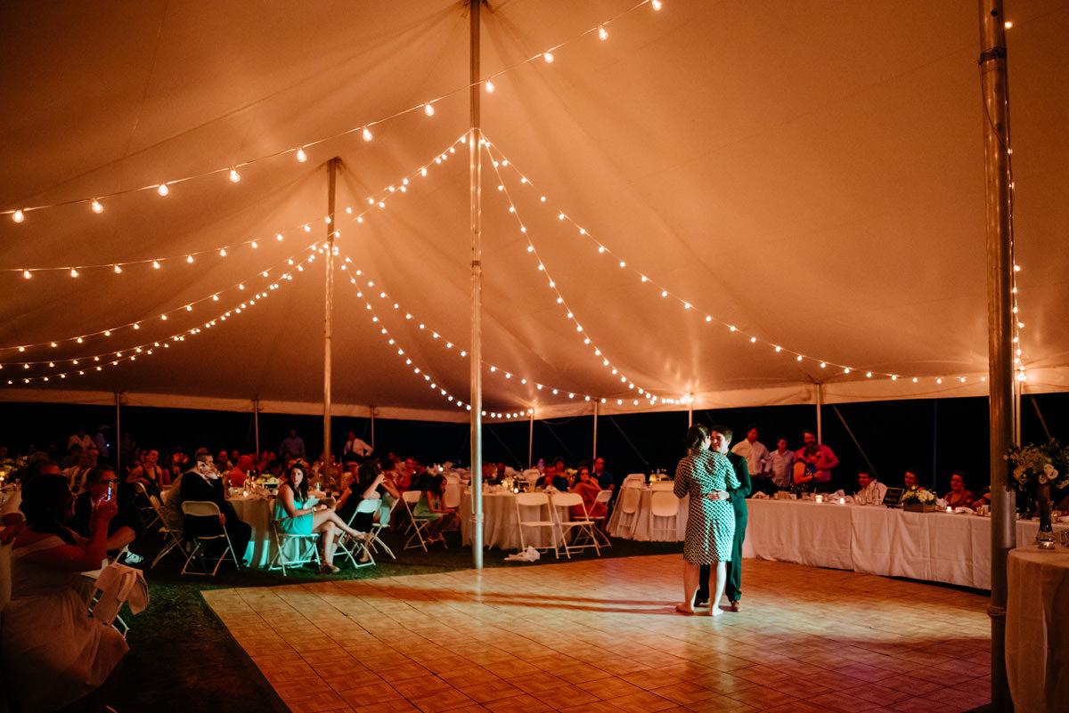 confluence resort wedding reception first dance