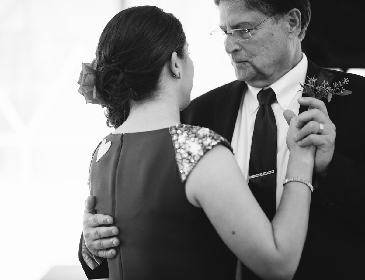 father of the bride tie clip