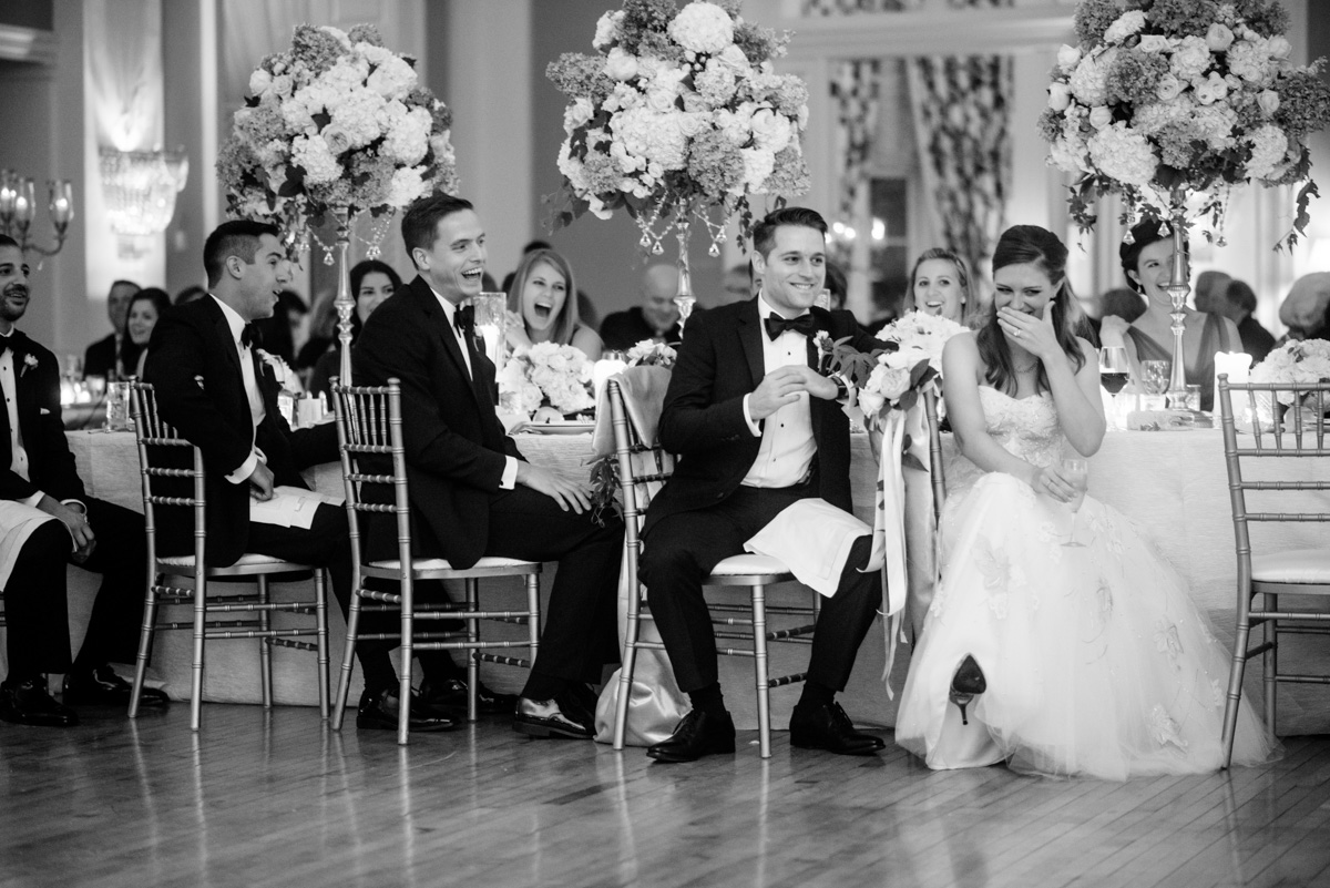 greenbrier resort wedding reception speeches