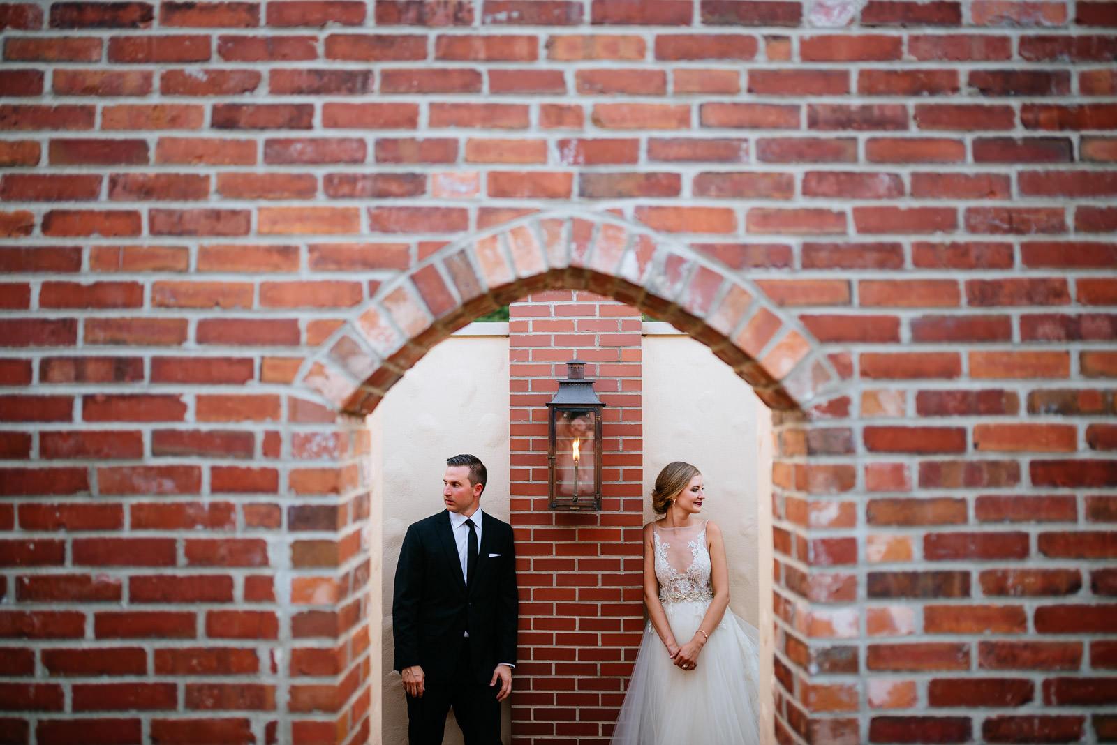 creative bride groom portrait zenner housewedding athens ohio