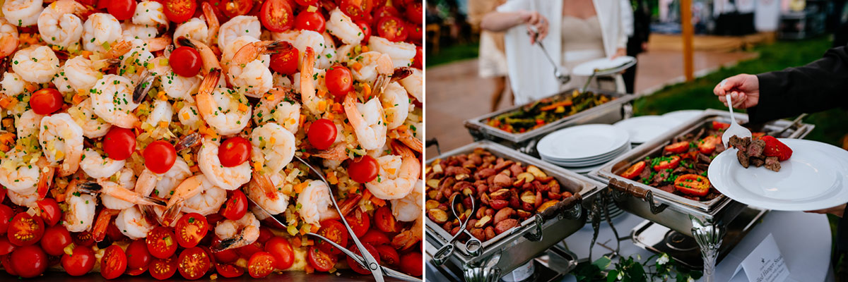 letoile catering pharsalia virginia wedding reception 1