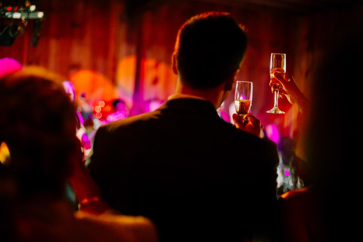 best wedding toast photos