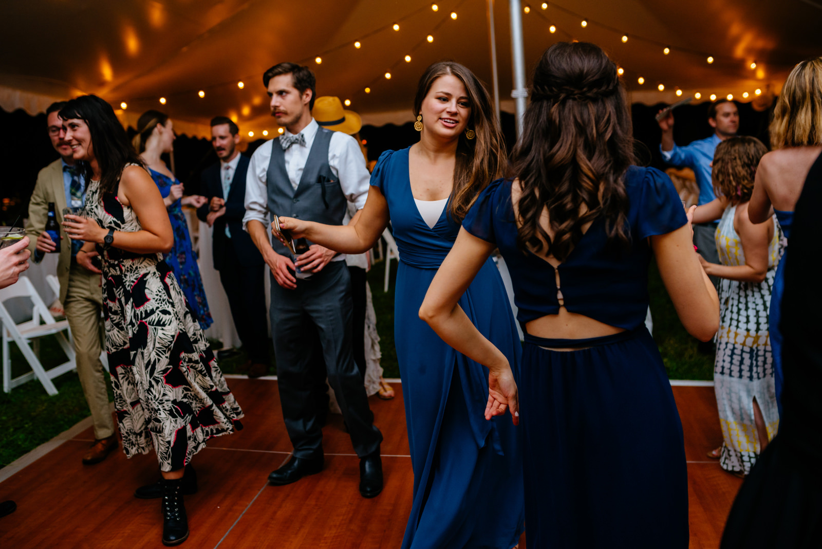 wedding reception moments holly hill inn