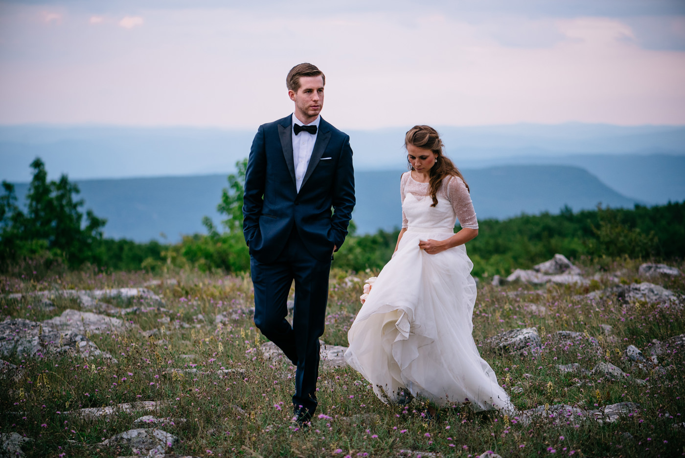 west virginia wedding photos dolly sods wilderness