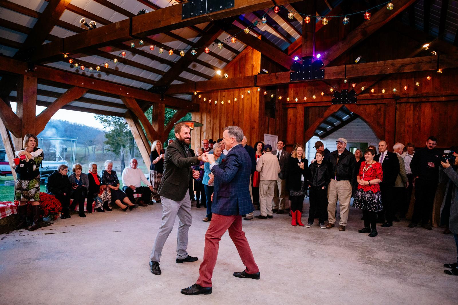 first dance same sex wv farm wedding