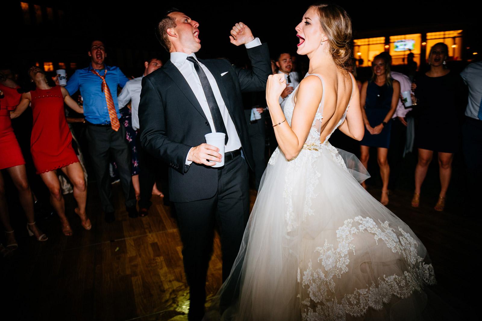 bride groom dancing zenner house wedding athens ohio