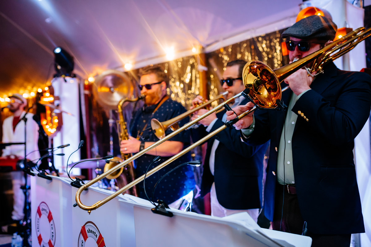 three sheets to the wind yacht rock band wedding
