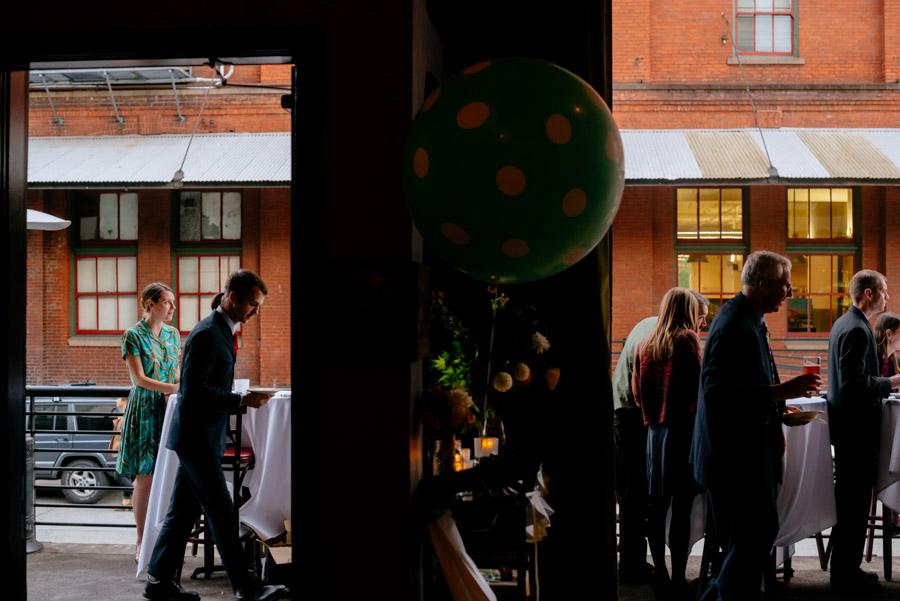 wedding reception at paragon restaurant portland oregon