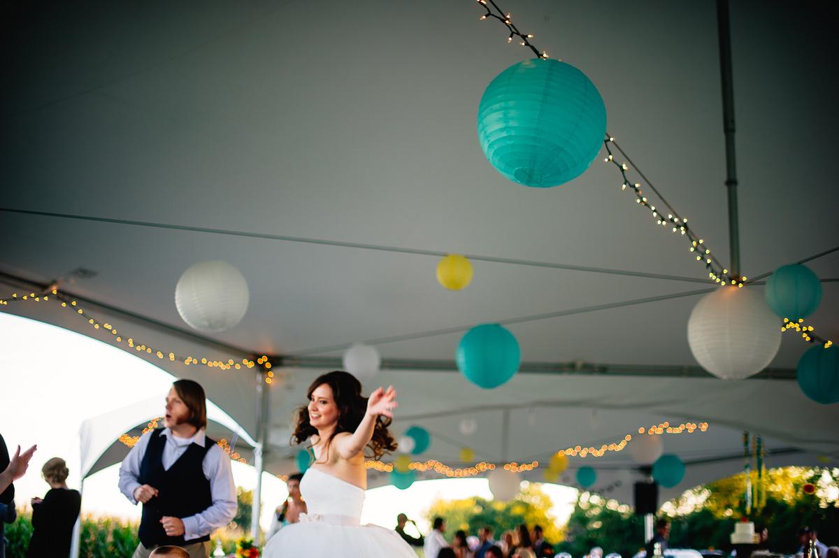 elizabeth u0026 alex u0027s backyard ohio wedding the oberports