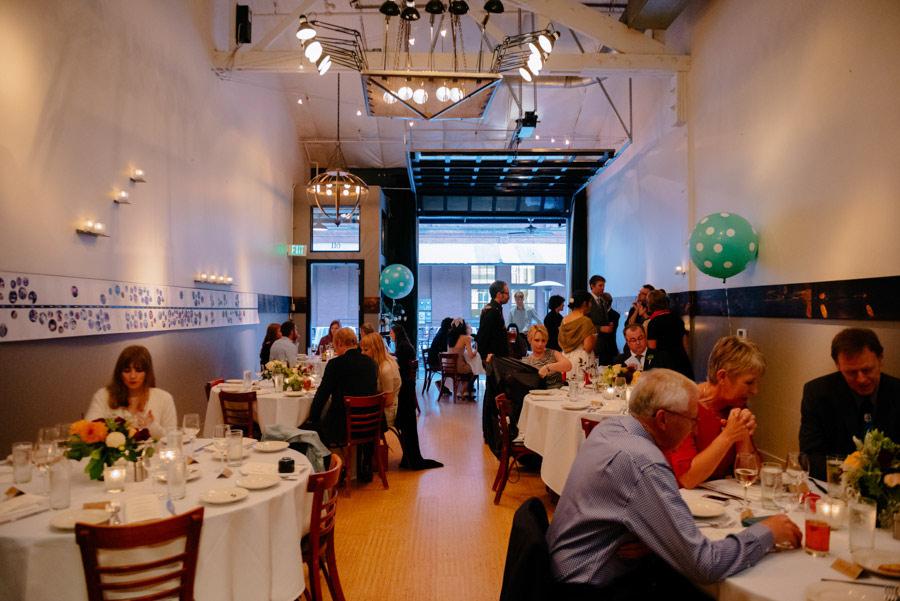 wedding reception at paragon restaurant portland or