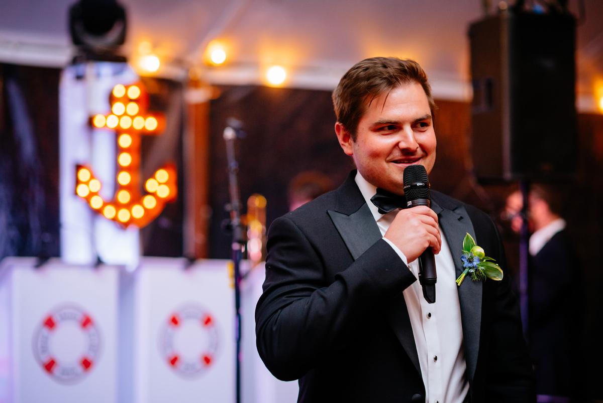 best man toast virginia wedding