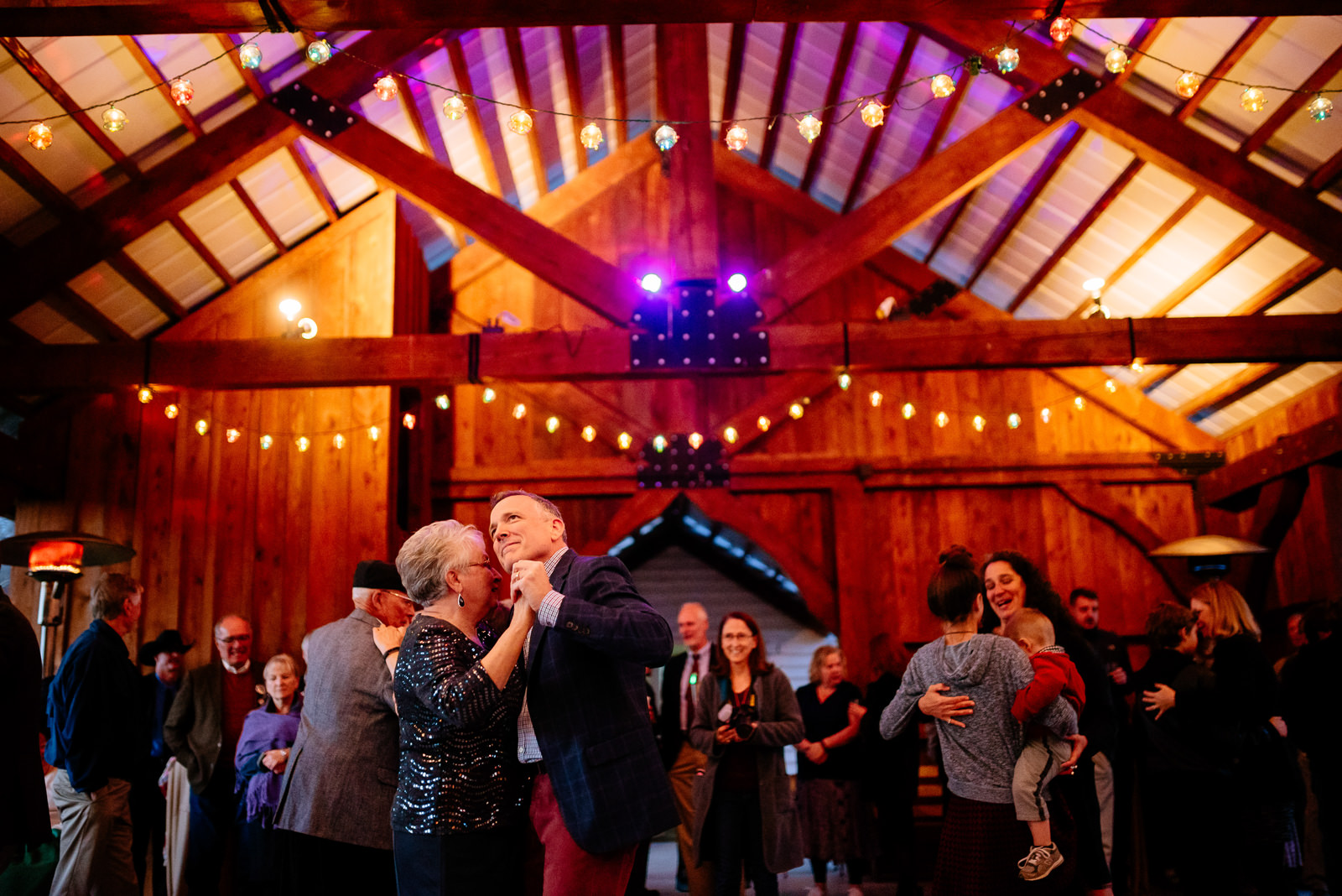 mother son dance wv farm wedding